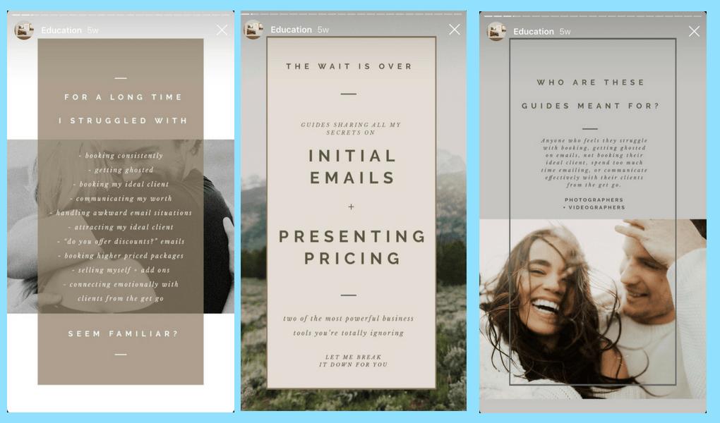 Come progettare le tue Storie Instagram con il giusto design