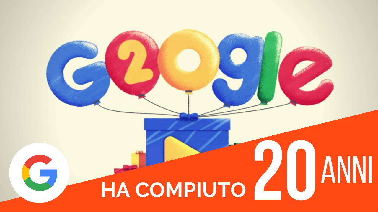Google ha compiuto 20 anni e si espande sempre di più