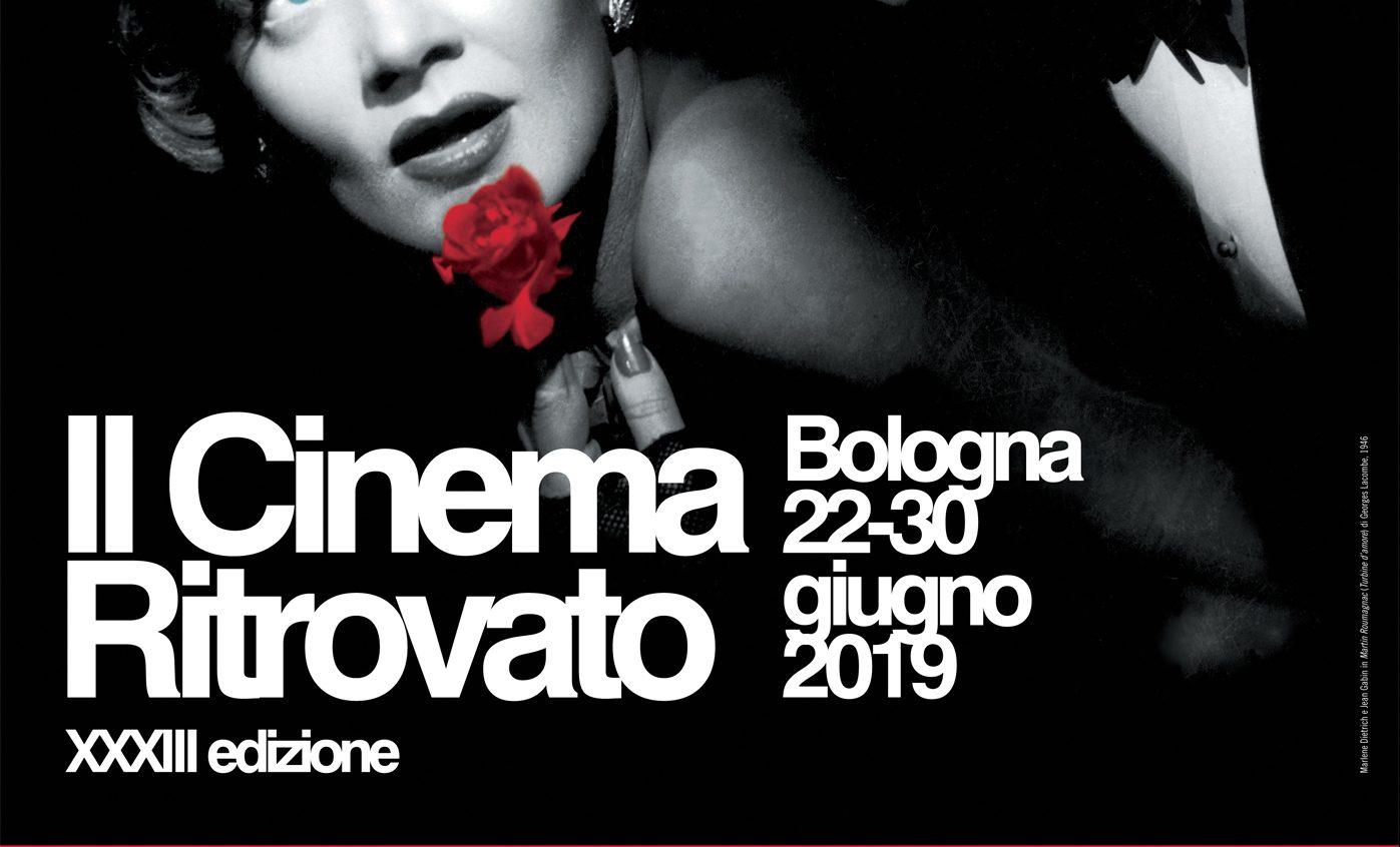 Il Cinema Ritrovato a Bologna 22-30 giugno 2019