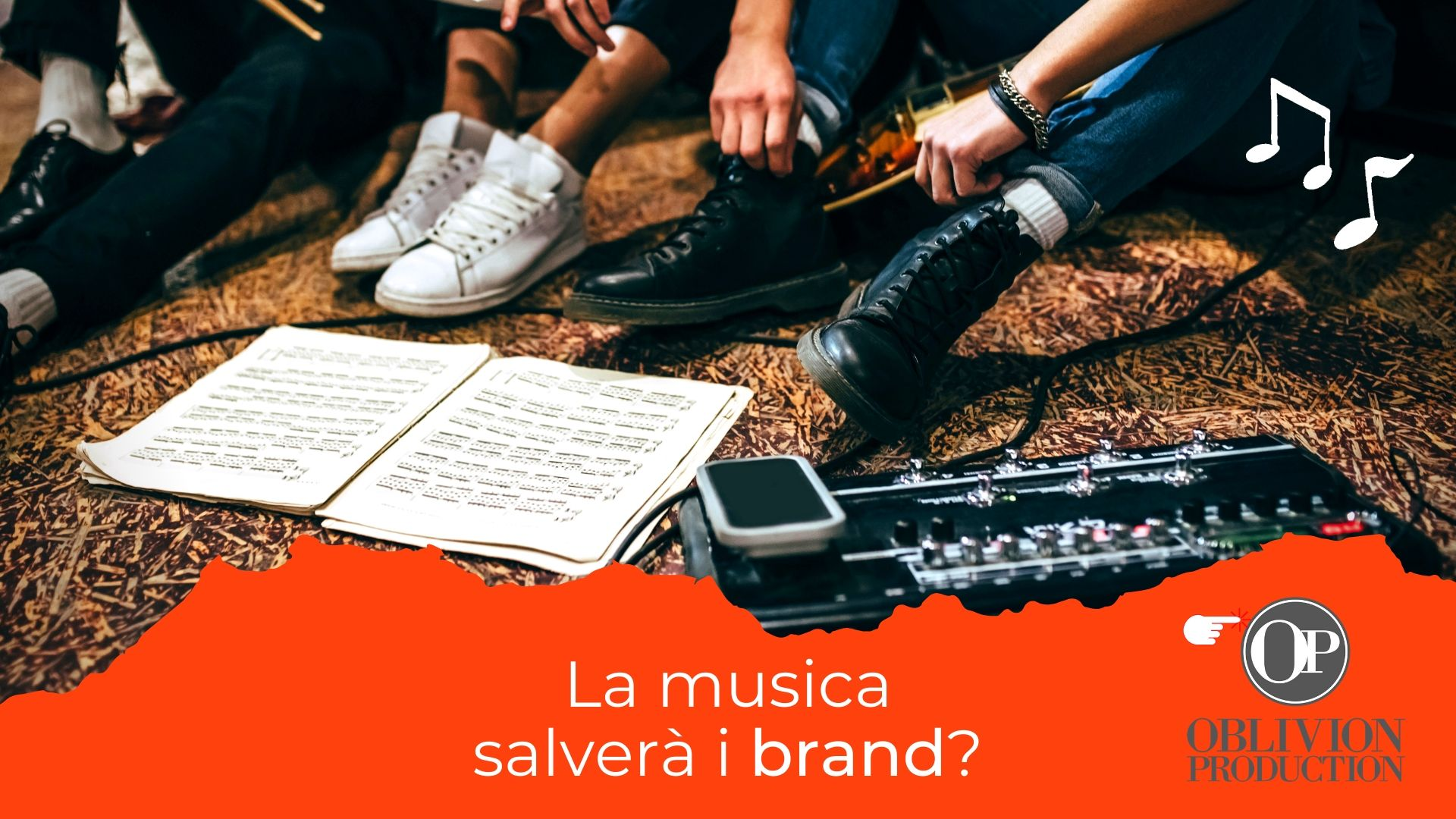 La musica salverà i brand